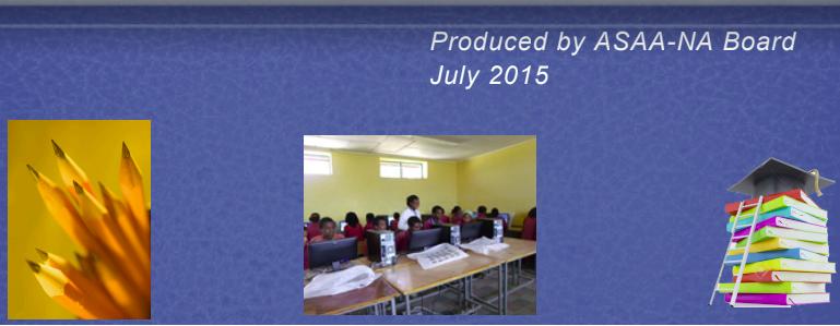 ASAA N.A Newsletter – July 2015