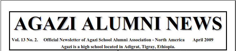 ASAA N.A Newsletter – April 2009 V13N2